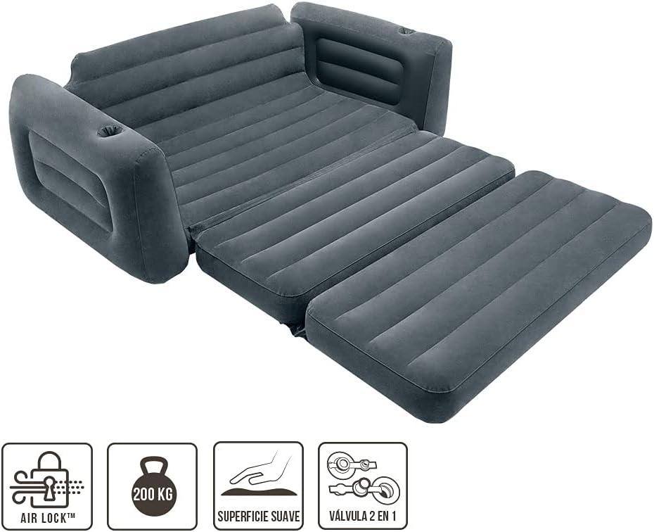 Sofá cama supletoria hinchable doble Intex