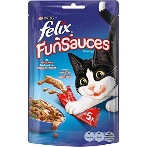 Felix Snacks FUNSAUCES Rindgeschmack, 12er Pack (12 x 5 x 15 g)