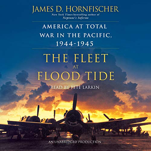 The Fleet at Flood Tide audiobook cover art