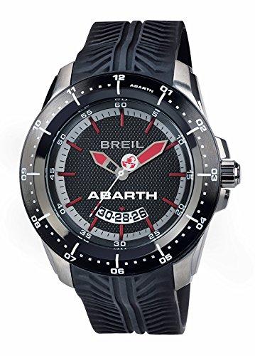 Breil Reloj Analogico para Hombre de Cuarzo con Correa en Silicona TW1486