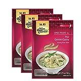 Concentrado de curry verde Tailandés - pack de 3 sobres de 50g cada uno