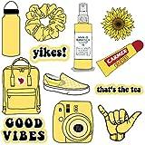 VSCO Vinyl Stickers Aesthetic,Trendy - VSCO Girl Essential Stuff for Water Bottles Stickers Suitable for Photo Sharing, Swimming,Outdoor