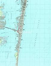 Imagekind Wall Art Print Entitled Seaside Park & NJ Shore Map (1989) by Alleycatshirts @Zazzle | 11 x 14
