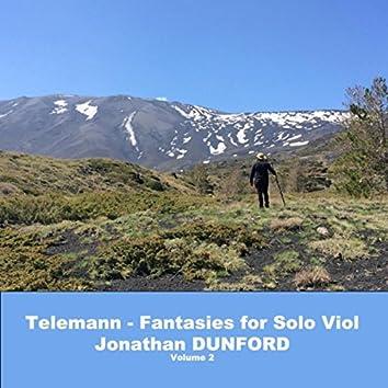 Telemann - Fantasies for Solo Viola da Gamba, Vol. 2