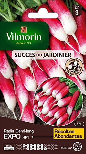 Vilmorin 3884843 Pack de Graines Radis Expo HF1