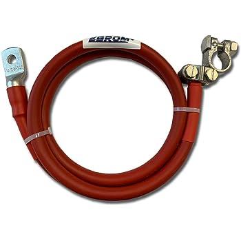 viele Längen Batteriekabel 70 mm² rot Polklemme R Kabelschuh M6//M8//M10//M12