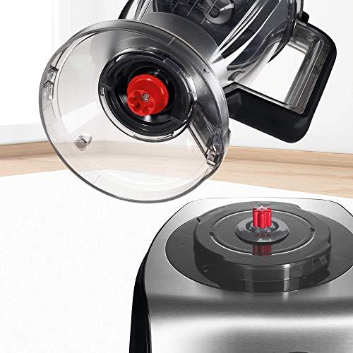 Bosch MC812M844 Robot da Cucina Multifunzione, 1250 W, 1,5L/3,9L, Alluminio 43x30x30cm