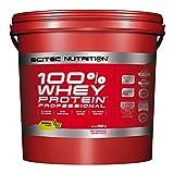 Scitec Nutrition PROTÉINE 100% Whey Protein Professional, banane, 5000 g
