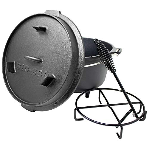 ToCis Big BBQ DO 6 Premium Dutch Oven |12' Cocotte...