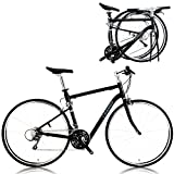 CHANGE 700C Compact Full Size Road Folding Bike Shimano 24 Speeds Size: (520 mm)