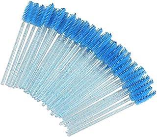 ExH 100 stks wegwerp wimper borstels Mascara toverstokken oog wimper wenkbrauw applicator Mascara wenkbrauw spoolies borst...