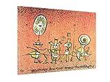 weewado Paul Klee - Die Sonnenseite Postkarte für die