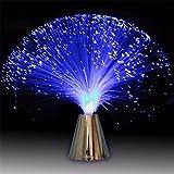 Schöne romantische MultiColor Changing LED Fiber Optic Nachtlicht Lampe Urlaub Hochzeit Dekor...