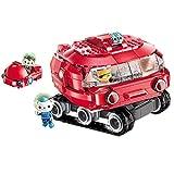 Children's building block toys undersea small column series girl assembled three-dimensional plug toy boy-Horseshoe Crab Boat