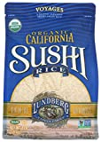 Lundberg Family Farms Organic Rice, White Sushi, 4 Pound