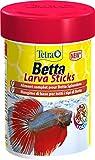 Tetra Betta LarvaSticks Mangime di Base per Tutti i Tipi di Betta - 85 ml