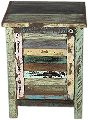The Craft House Recyle Wooden BedSide Table