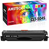 Amstech Compatible Toner Cartridge Replacement for Samsung CLT-K504S K504S Toner for Samsung Xpress C1860FW C1810W CLX-4195FW CLP-415NW SL-C1860FW SL-C1810FW Toner Cartridge (Black, 1-Pack)