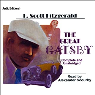 The Great Gatsby                   By:                                                                                                                                 F. Scott Fitzgerald                               Narrated by:                                                                                                                                 Alexander Scourby                      Length: 4 hrs and 37 mins     275 ratings     Overall 4.2