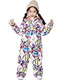 Baby Girl Snowsuits One Piece Jumpsuits Infant Ski Suit for Toddler Little Kid's Bib Overalls