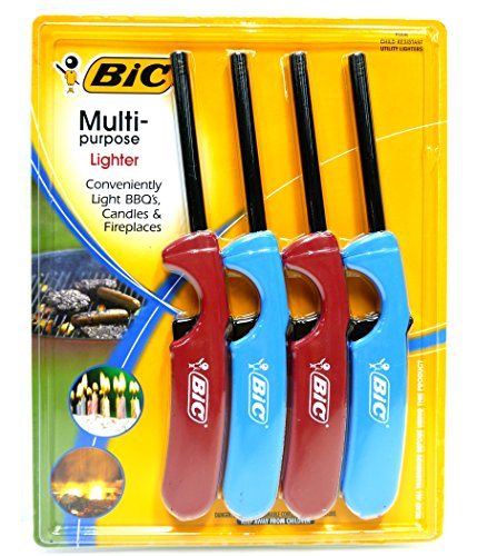 Fantastic Deal! 2 X BiC Multi-Purpose Lighter – 4 Lighter Value Pack