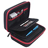 Jun Xuan New 3DS XL and 2DS XL Carrying Case - Fits Wall Charger - 16 Game Card Storage Holders, Hard Shell...