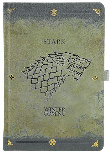 Game Of Thrones Stark Worn Notebook