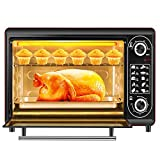Multifunction Convection Countertop Toaster Oven,48L Large Capacity Intelligent Timing Temperature Control, Includes Bake