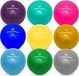 #DoYourFitness Mini Pilates Ball »Balle« 18cm / 23cm / 28cm / 33cm Gymnastikball für Beckenübungen, Stärkung der Bauchmuskulatur und partielle Massage. himmelblau / 18cm
