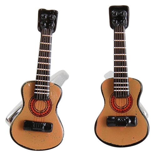 Zennor Guitare acoustique Brown/Black boutons de manchette de