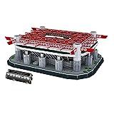 Baoblaze Assemblaggio Giocattolo Stadio di Calcio Puzzle 3D per Raccolta Ornamento Casa - San Siro