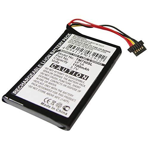subtel® Qualitäts Akku kompatibel mit Tomtom GO 740 Live GO 740TM GO 750 GO 750 Live GO 750 Traffic 4CP0.002.06, AHL03711012 HM9440232488 VF1A 1100mAh Ersatzakku Batterie
