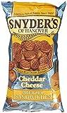 Snyder´s pretzel sandwiches cheddar cheese 226.8 g...
