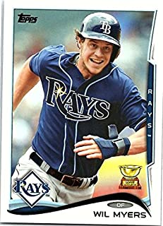 2014 Topps Series 1 Baseball #110 Wil Myers Tampa Bay Rays Official MLB Trading Card