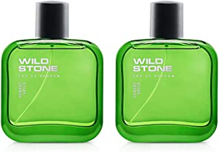 Wild Stone Forest Spice Spray Perfume Combo for Men, Pack of 2 (50ml each)