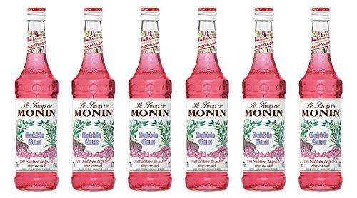 Monin Bubble Gum-Sirup, 700 ml, 6er Pack