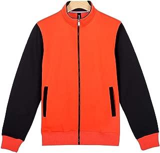 Its Banana Cat Teens Boys Girl Varsity Baseball Jacket Long Sleeve Sport Baseball Uniform Jacket Coat Sweater Black