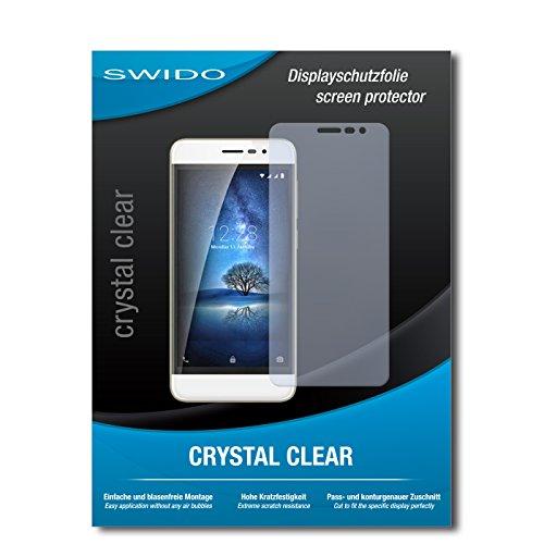 SWIDO Schutzfolie für Coolpad Torino S [2 Stück] Kristall-Klar, Hoher Festigkeitgrad, Schutz vor Öl, Staub & Kratzer/Glasfolie, Bildschirmschutz, Bildschirmschutzfolie, Panzerglas-Folie