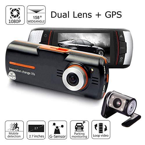 Grewtech Caméra de tableau de bord 2,7\