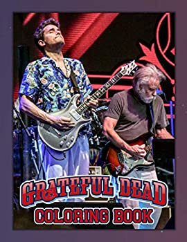 Grateful Dead Coloring Book  Grateful Dead Coloring Books For Adults Teenagers Unofficial