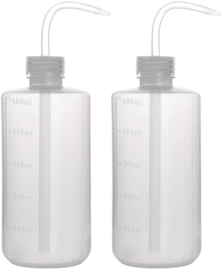 stonylab Chemical Wash Bottle 2-Pack Safety High quality new Squeeze Lab Plastic Ranking TOP5