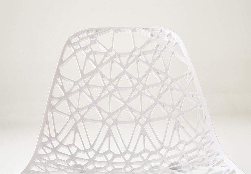 ZTBXQ Chaise de Conception de Meubles Chaise de Salle à Manger Moderne Simple Tabouret en Plastique Chaise d'ordinateur de Maison de Loisirs à discuter de Chaise C