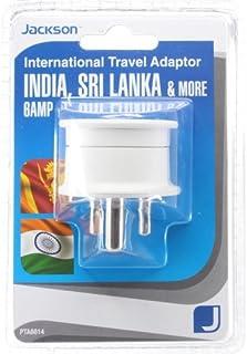 Jackson Outbound Travel Adaptor - India, (PTA8814)