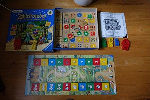 Ravensburger - Zahlenzauber, Holzspiel (Kinderspiel)