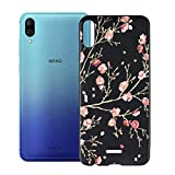 HHUAN Case for Wiko Y80 Black Cover Ultrathin Soft Silicone