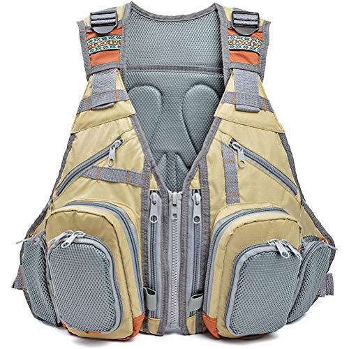 Why Should You Buy EXH Fishing Vest, Unisex Multifunctional Fishing Vest Backpack Adjustable Multi P...