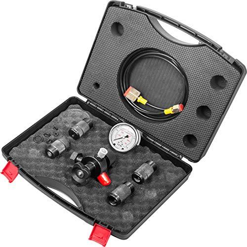 VEVOR 400BAR Hydraulische Manometer Tester 5800PSI Hydraulic Pressure Tester Hydraulikdruckmesser Pressure Gauge Kit Präzises Messgerät Hydraulikdruckprüfset