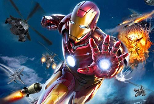 SKYTY Jigsaw Puzzles 300/500/1000/Pieces-I am Iron Man-A6_300-Wooden Assembling Puzzles for Adults Kids Puzzle games home Educational Puzzle Toys