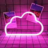 Niedliches Wolke Schild Neonlicht,LED Wolke Zeichen Dekor Licht,Festzelt Zeichen Wand Dekoration...