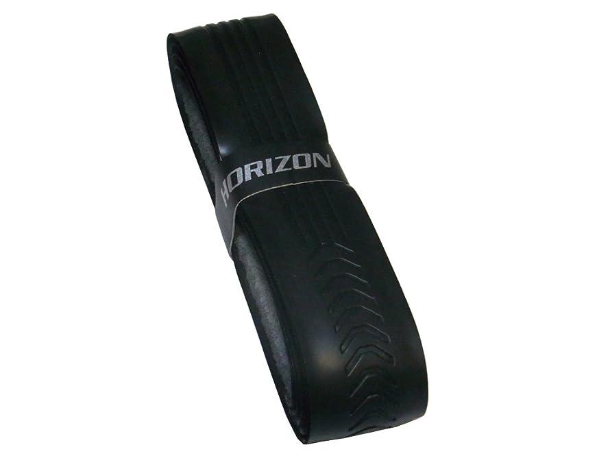 食べる挨拶する混合した【HORIZON ホライズン】 手が滑らない ウェット リプレイスメント グリップテープ ロング対応 元グリップ ブラック1本